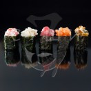 Острые суши с кальмаром
